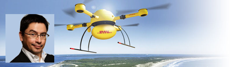DHL Drone delivery service