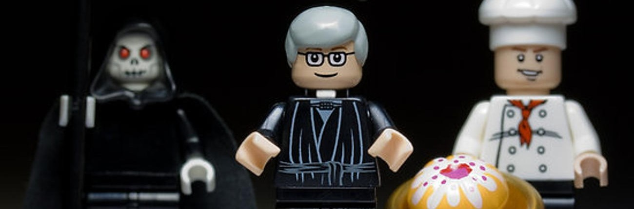 Lego Cake or Death - Eddie Izzard