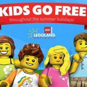 Lego land kids go free banner